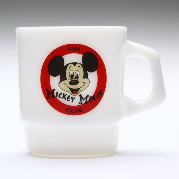 Image of 6 x Fire King Stacking Mugs - Disney Series
