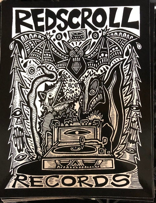 Image of Sticker - Nocturnal Friends of Redscroll Records