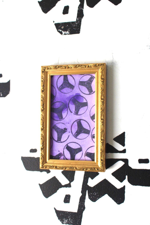 """""""I WANNA CHOP BLADES"""" Framed Silkscreen Print on Paper"""