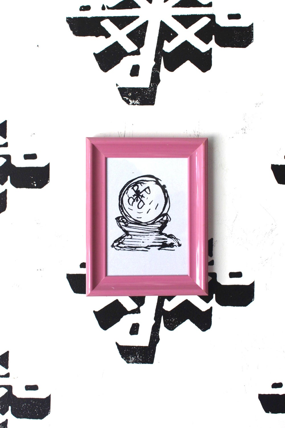 """""""Perfect Vision"""" Framed Silkscreen Print on Paper"""