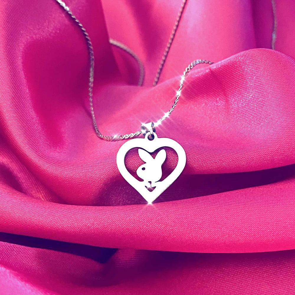"""Image of """"Conejita"""" Necklace SILVER"""