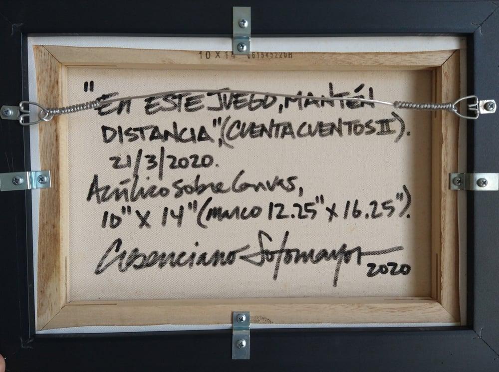 """Image of """"En Este Juego, Mantén Distancia"""" (Cuentacuentos #2), 2020."""