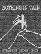 Image of Nothing In Vain - The Straight Edge Issue