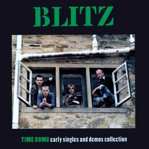 Image of Blitz - Time Bomb - Early Singles and Demos Collection LP