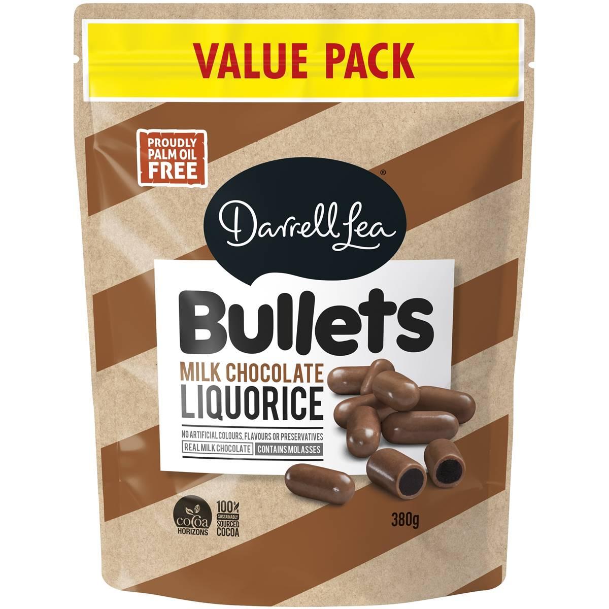 Image of Bullets Milk Chocolate Value Bag 380g
