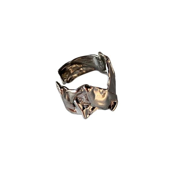 Image of Crumbled Metal Ring