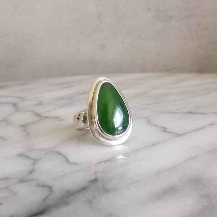 Image of Pounamu ring