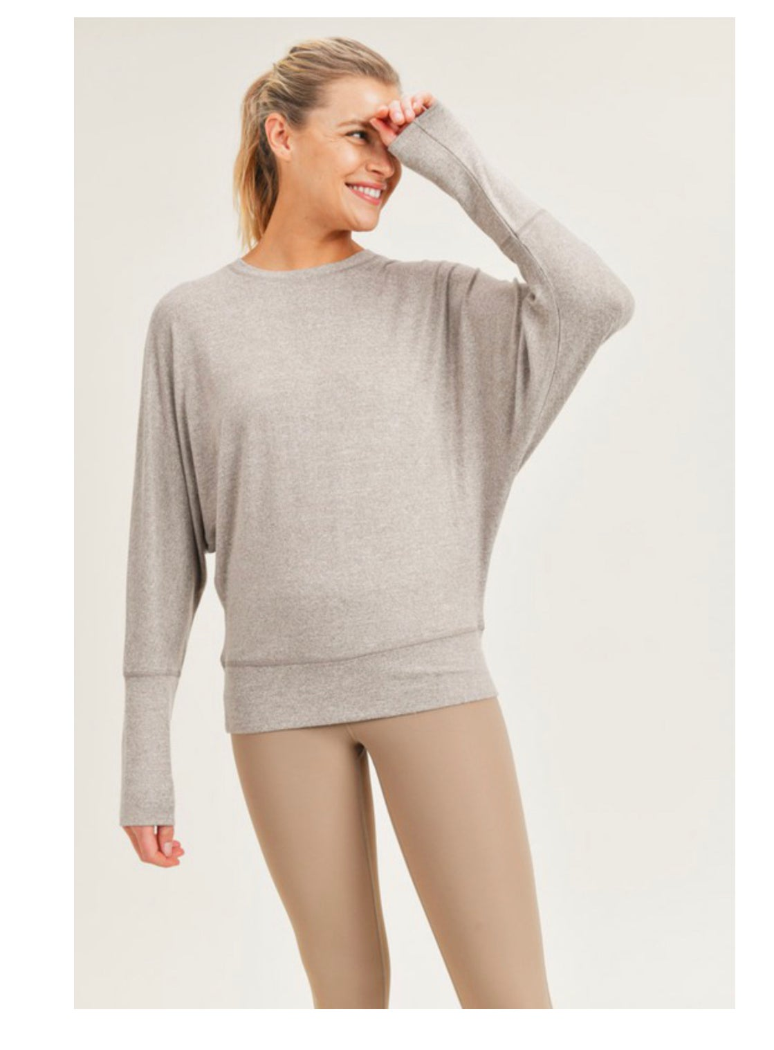 Image of Dolman Sleeve Top - 3 Colors