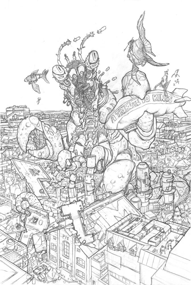 Image of Primus - Bent 2021 - Original art