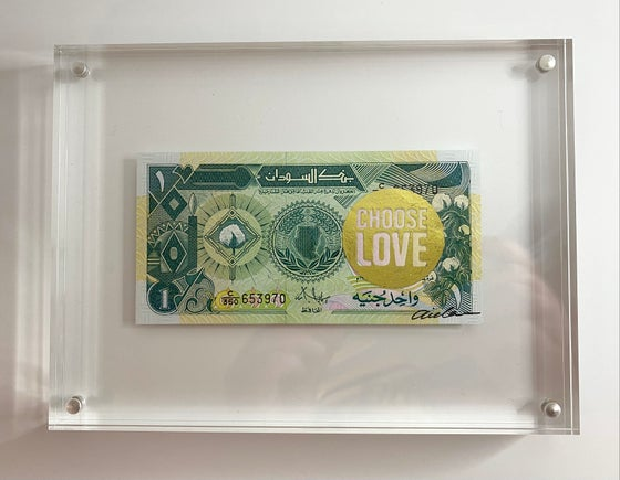 Image of Choose Love Gold #5 Fundraiser
