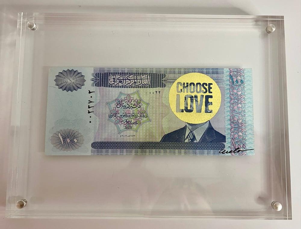 Image of Choose Love Gold #3 Fundraiser