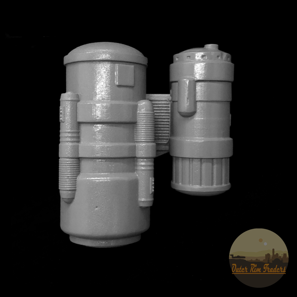 Image of Wall Hanging Canisters by Hammerfall Customs