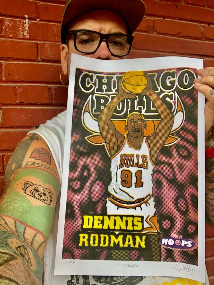"""Image de '' Rodman """" print Limité à 35"""