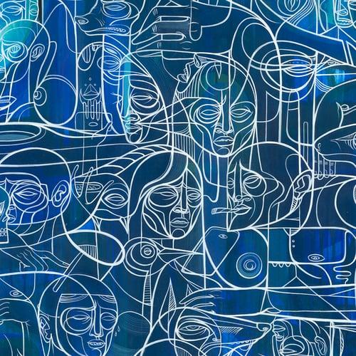 "Image of DOZE GREEN ""Avatar Third Density"" (Artist's Proofs)"