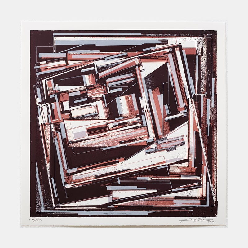 """Image of AUGUSTINE KOFIE, """"Innerfold Overwhelm"""" (Artist's Proof)"""