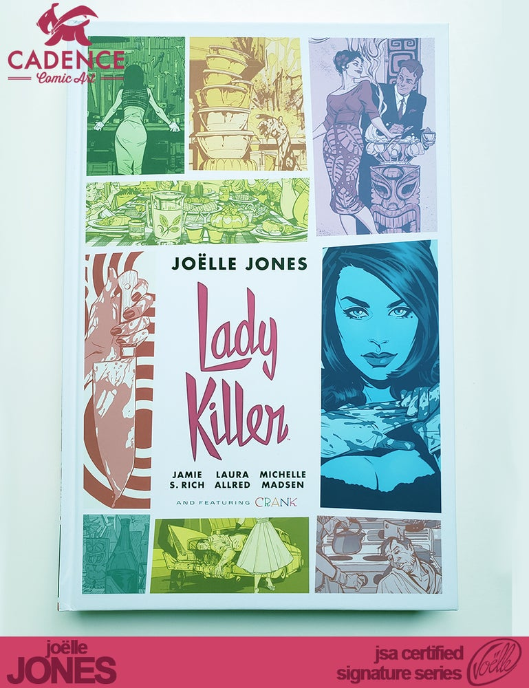 Image of Lady Killer Library Edition - Joëlle Jones Signature Series  (JSA Certified)