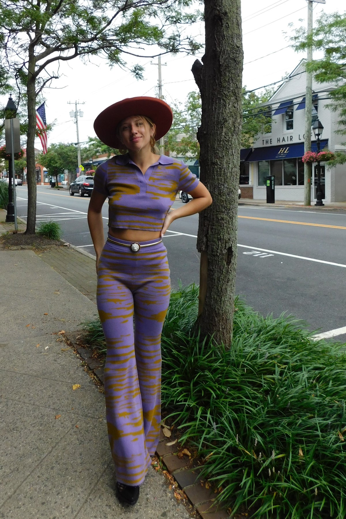 Image of Abstract Knit Pant