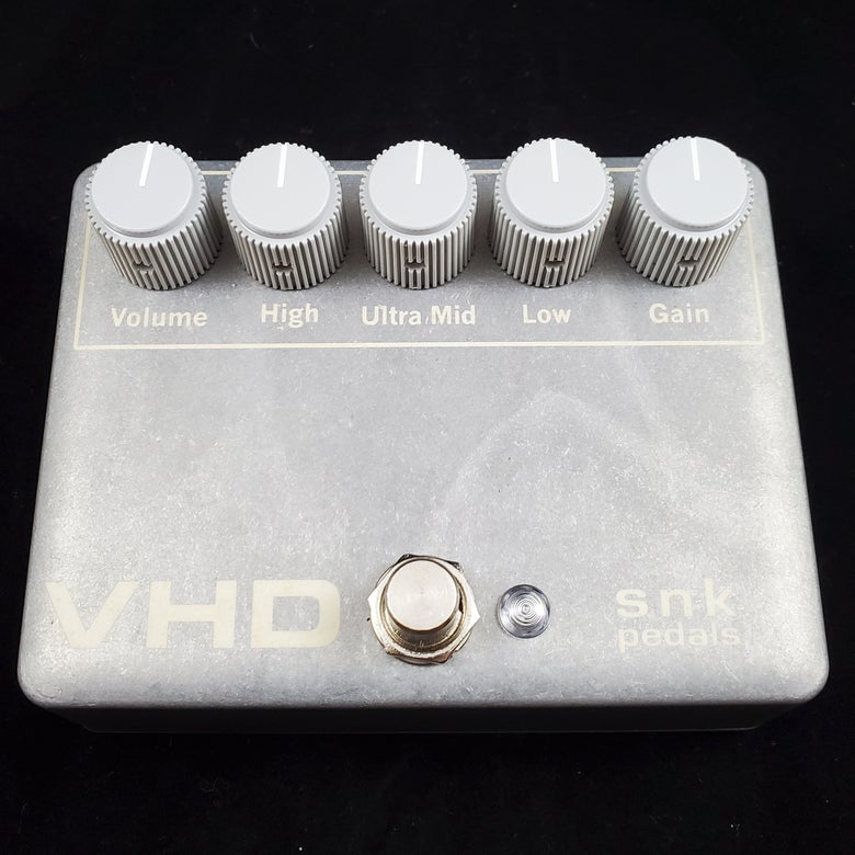 Image of VHD Distortion Preamp PHANTOM CLEAR ON RAW