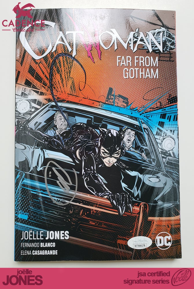 Image of Catwoman TPB  Volume 2 - Joëlle Jones Signature Series (JSA Certified)