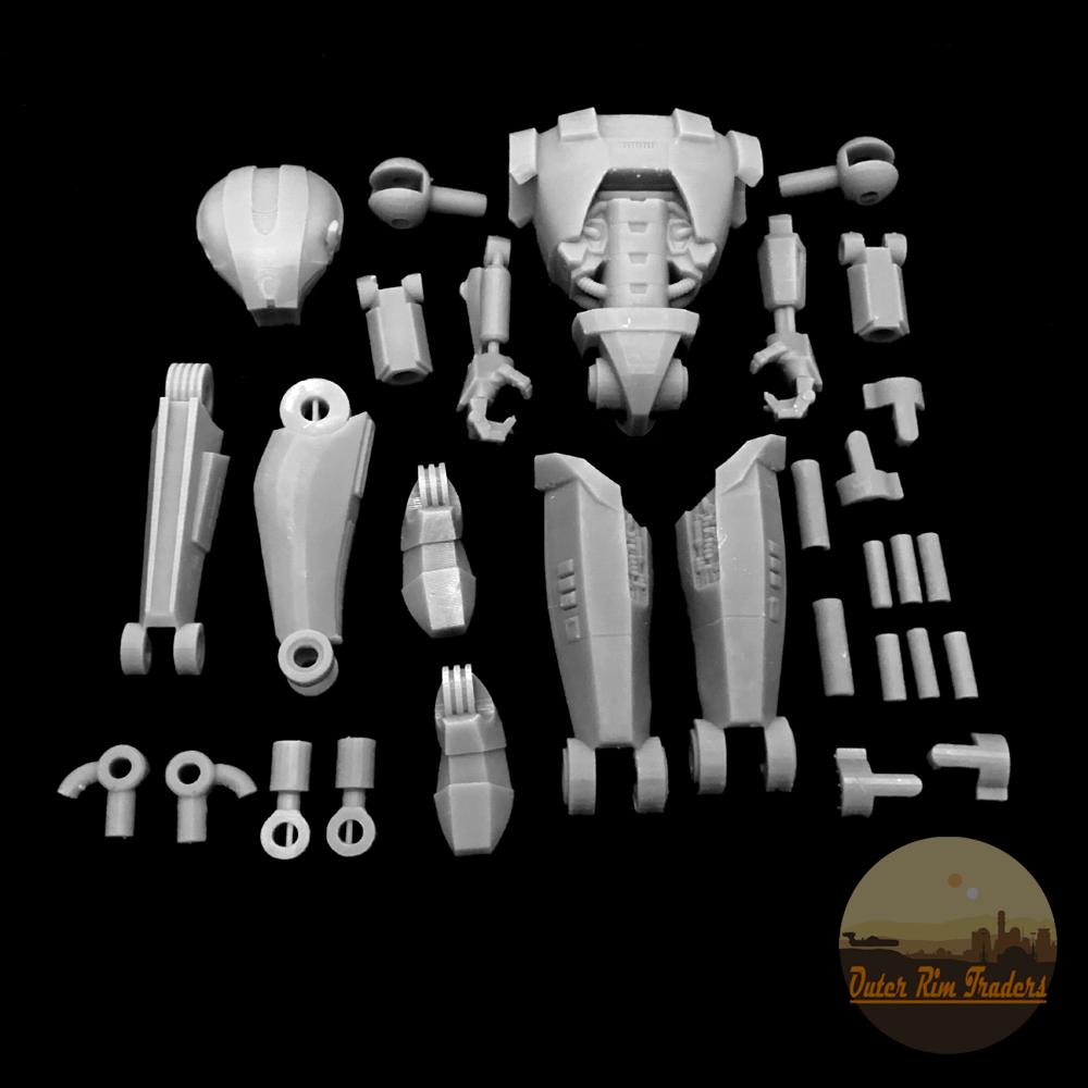 Image of Robotic Hunter Kit by Skylu3D