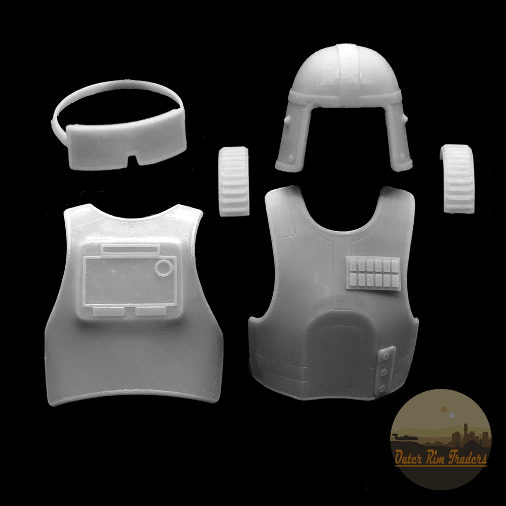 Image of Officer Armor Upgrade by Skylu3D
