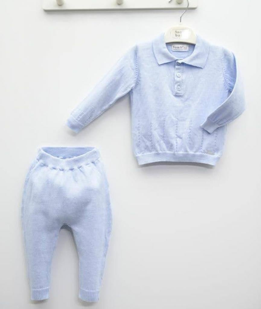 Image of Blue Collared Tracksuit