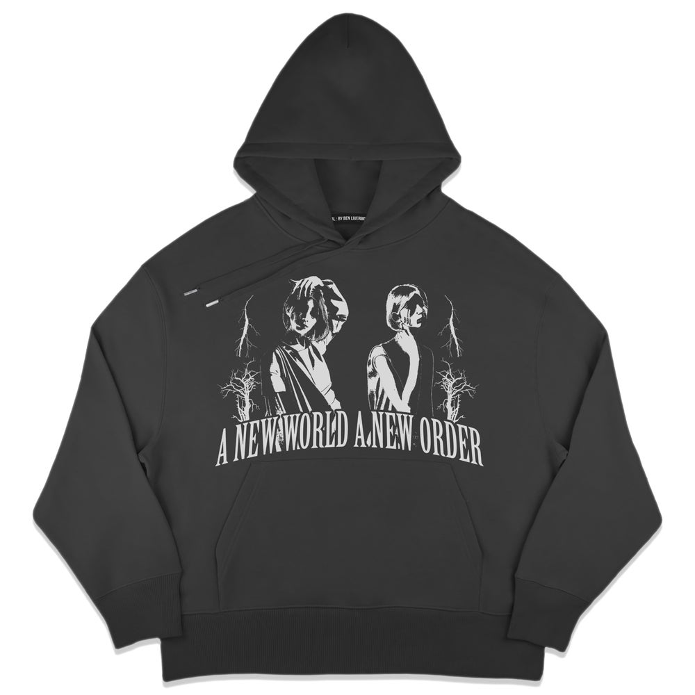 Image of A New World Order Hoodie (Black)