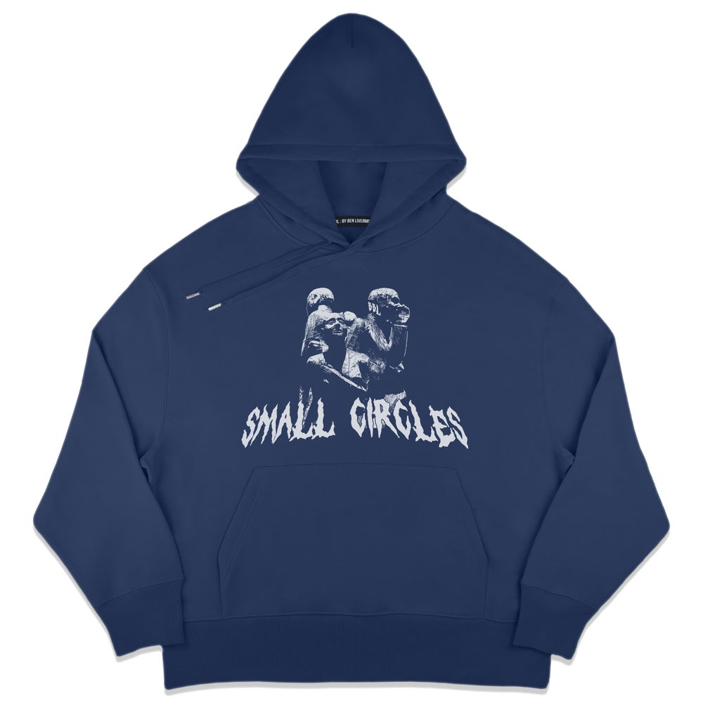 Image of Small Circles Hoodie (Midnight Blue)