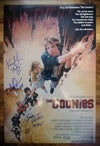 The Goonies Cast signed 18x12 Photo
