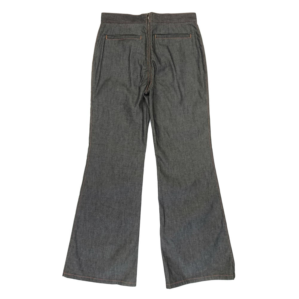 Image of Gucci by Tom Ford 2000 Full Zip Flared Jeans