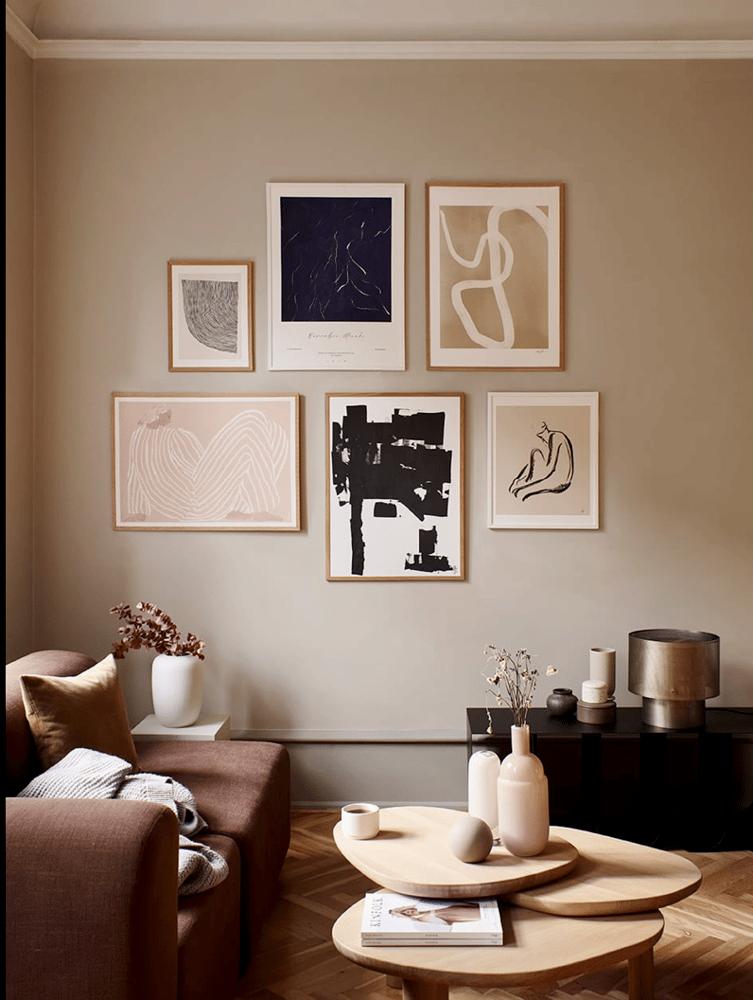 Image of Me framed art print by Sofia Lind
