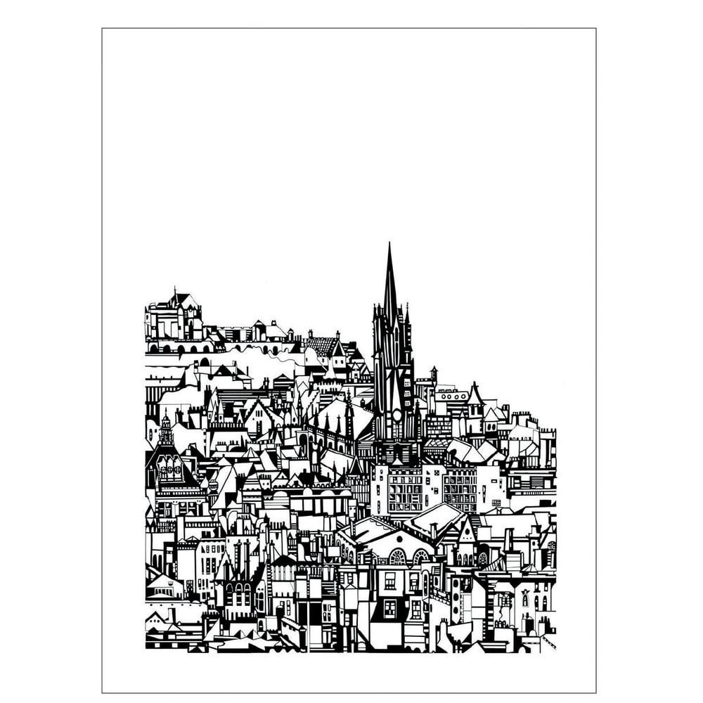 Image of Edinburgh City screen print
