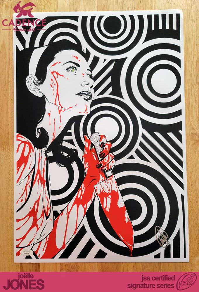 "Image of ""Circles"" Lady Killer Art Print - Joëlle Jones Signature Series (JSA Certified)"