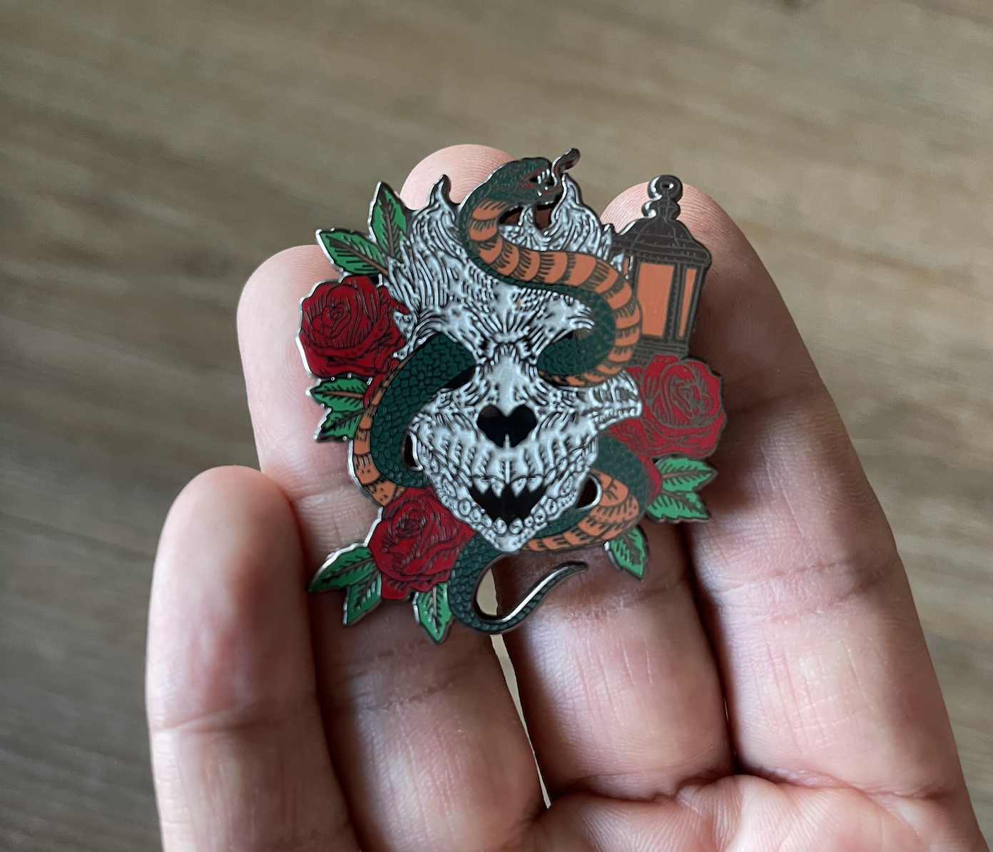Image of Snakes Pin