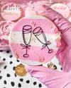Champagne glasses - Raised embosser