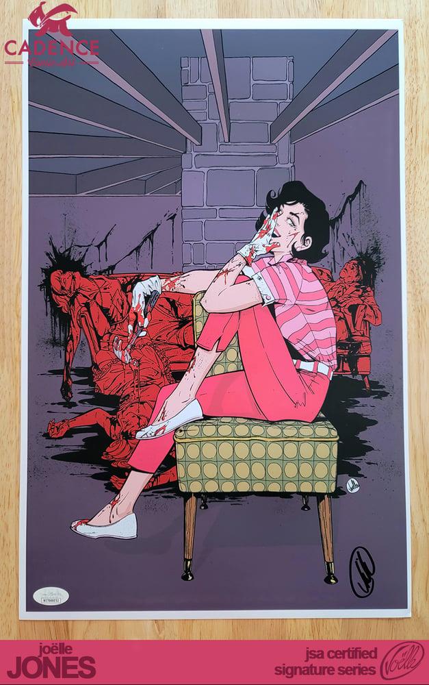 "Image of ""Purple"" Lady Killer Art Print - Joëlle Jones Signature Series (JSA Certified)"