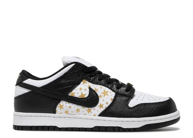 Image of  Nike  SUPREME X DUNK LOW OG SB QS 'BLACK'