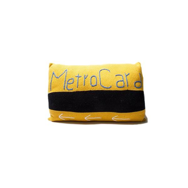 Image of NYC Metro Card Pillow