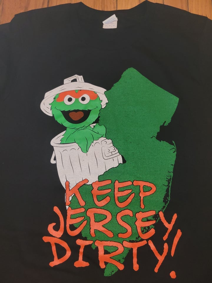 Image of KEEP JERSEY DIRTY T SHIRT (IN STOCK)