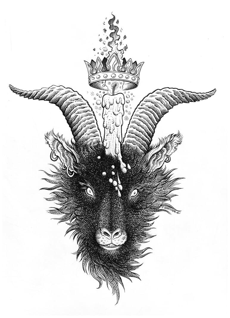 Image of Baphomet - Original Artwork