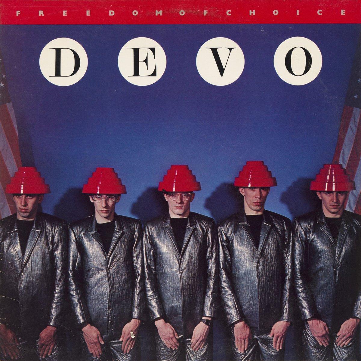 Image of DEVO - Freedom Of Choice LP (white vinyl)