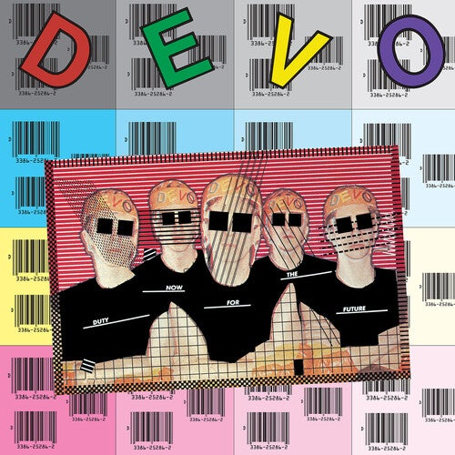 Image of DEVO - Duty Now For The Future LP (magenta vinyl)