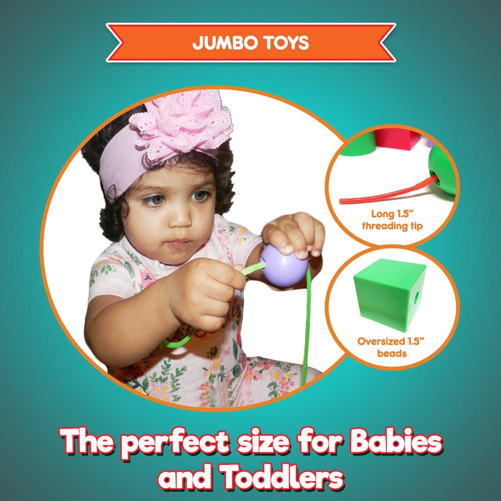 Image of Jumbo Lacing Beads