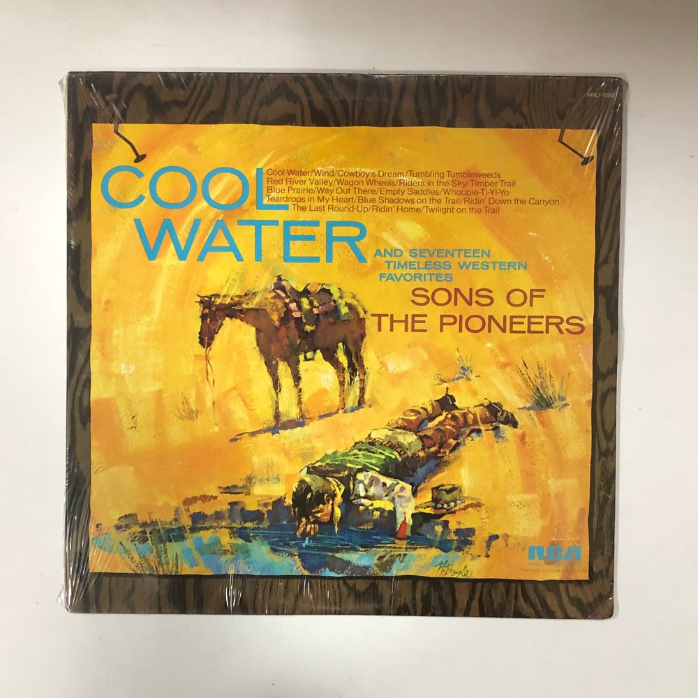 The Sons Of The Pioneers – Cool Water SEALED LP