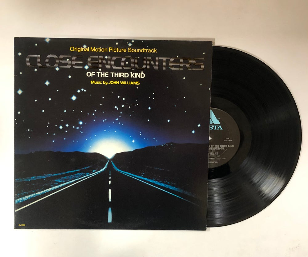 """John Williams – Close Encounters Of The Third Kind (Original Motion Picture Soundtrack) LP / 7"""""""