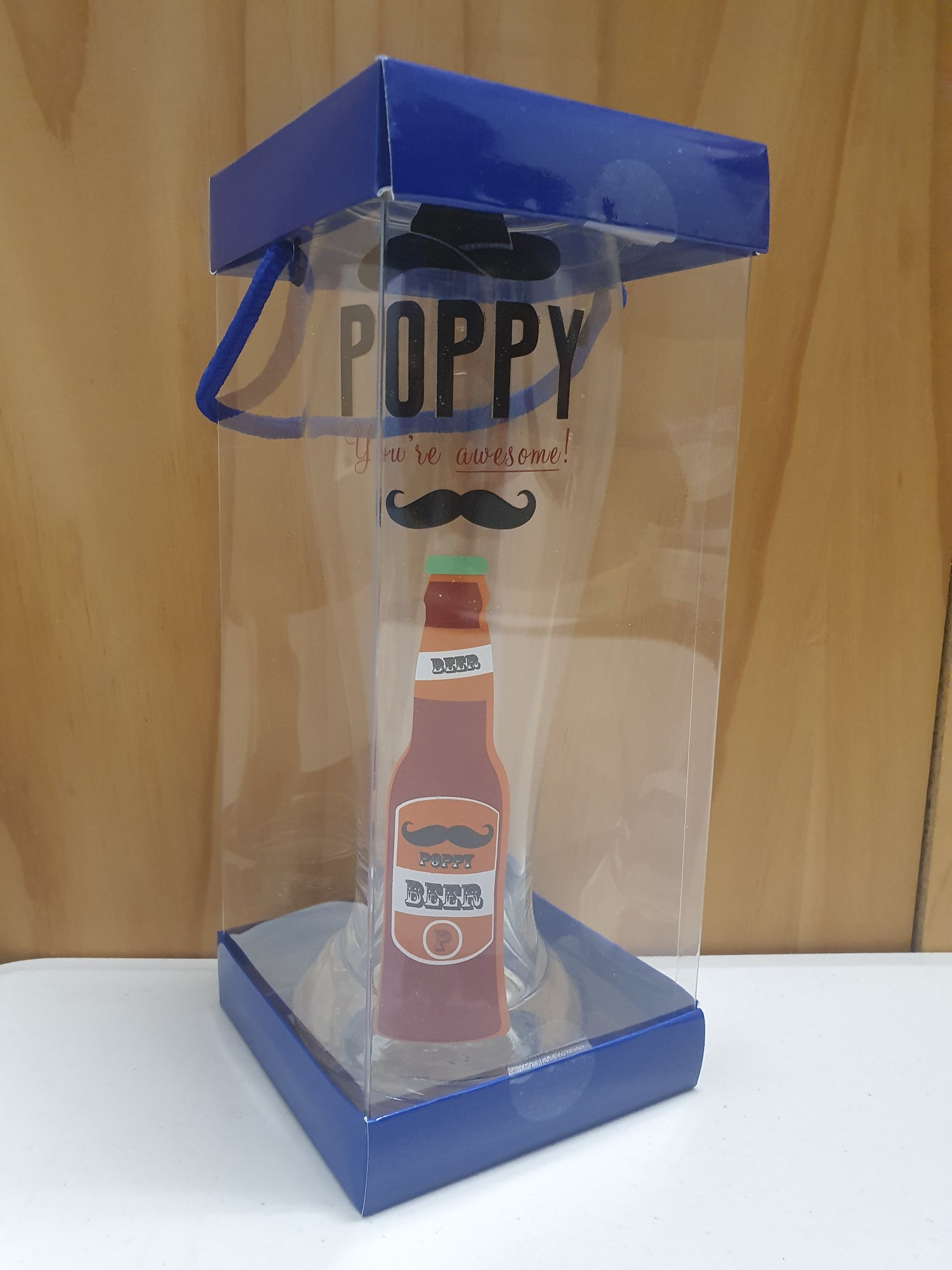 Image of Beer Glass Poppy Your Awesome