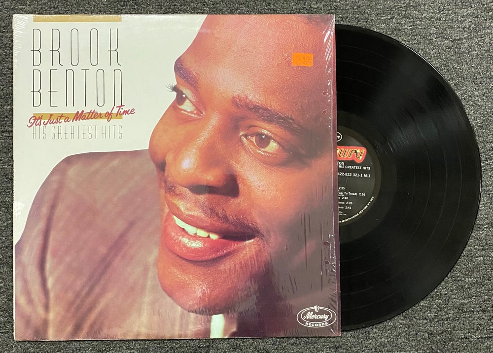 Brook Benton – His Greatest Hits, It's Just A Matter Of Time LP