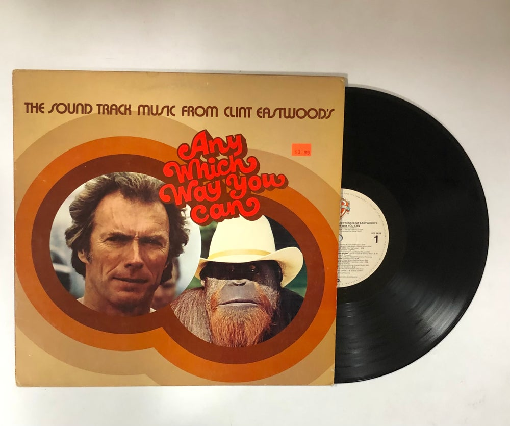 Various – The Sound Track Music From Clint Eastwood's Any Which Way You Can LP
