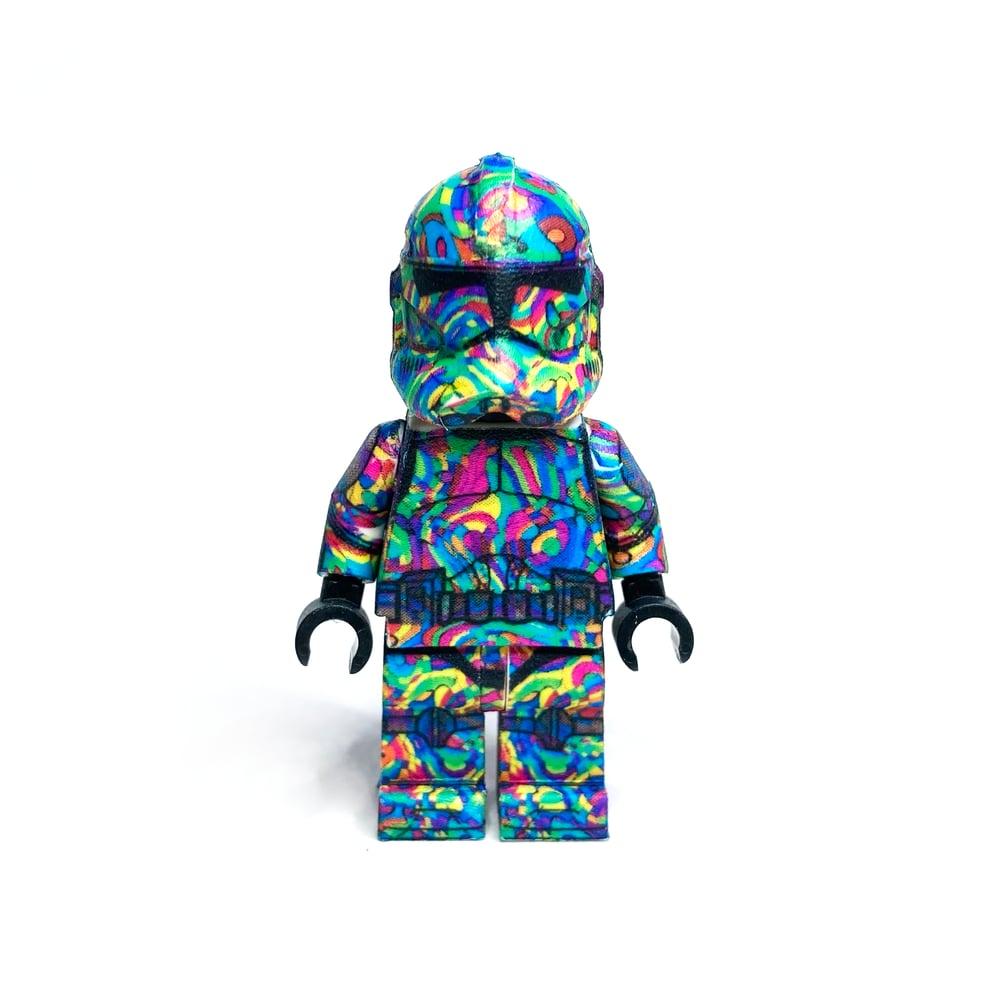 Image of Geometric Rainbow Trooper