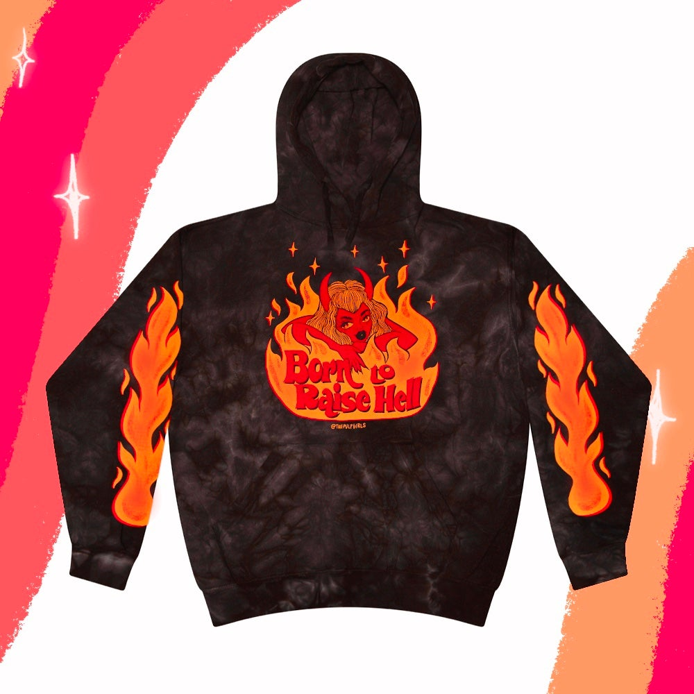 Image of BORN TO RAISE HELL HOODIE